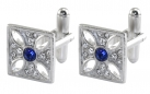 Imperial State Crown Cross Cufflinks