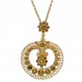 Indian Jewelled Pendant