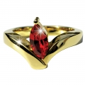 Julia Roberts Oval Ruby ring- Small 04, Med 03, Large 02