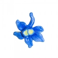 July Larkspur Small Brooch Pin