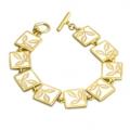 Lace Leaf Bracelet