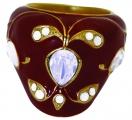 Mughal Ring -  Red