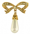 Princess Bow Brooch
