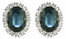 Princess Diana Sapphire and Diamond Earrings