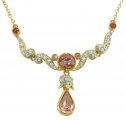 Princess Margaret Rose Necklace