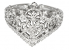 Princess Tiara Collection Ring 1 - Silver plated