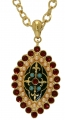 Pugin Medieval Style Pendant and Chain
