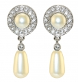 Queen Elizabeth II's Jubilee Pearl Drop Earrings