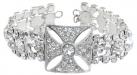 Queen Victoria's Diamond Crown Bracelet