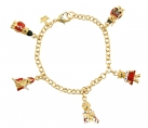 Royal Teddy Charm Bracelet