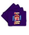Set of 4 diamond Jubilee Official Logo Placemats