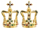 St Edward's Crown Earrings