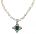 St Edwards Crown Pearl Necklace