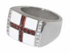 St George's Flag Ring