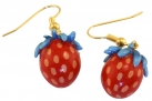 Strawberry Thief Earrings