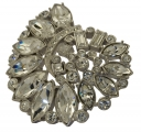 Treasures of the Earth Crystal Brooch