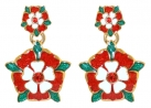 Tudor Rose Earrings