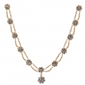 Tudor Rose Jewelled Necklace