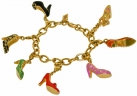 V&A Seven Shoes Charm bracelet