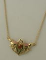 William Morris Strawberry Thief Pendant