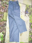 WAX OVER TROUSERS