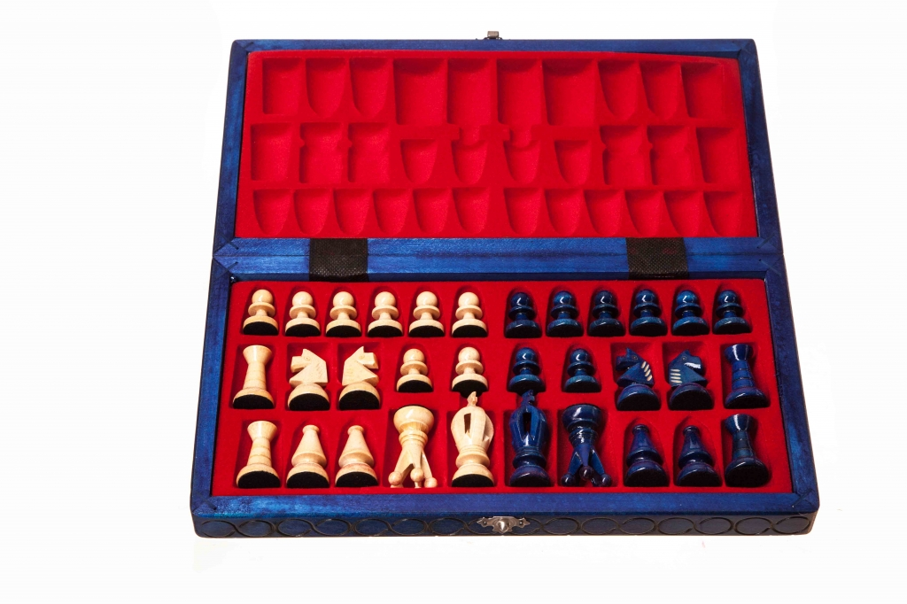 C9 Blue Chess Sets And Traditional Games World Of
