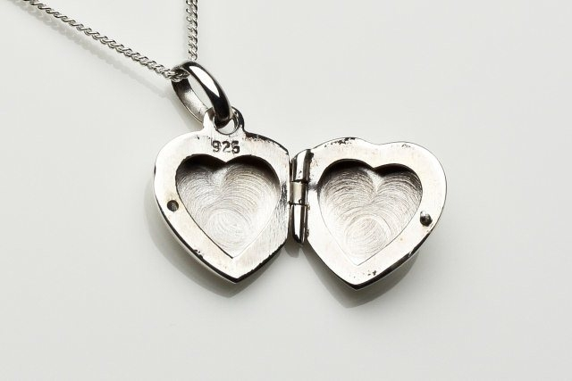 locket heart engraved lockets com satin quot dp sterling amazon silver finish