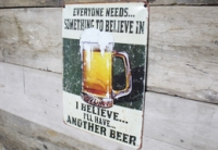'Another Beer' sign
