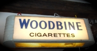 'Woodbine' Advertising Lamp