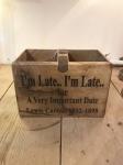 Alice In Wonderland Storage Box