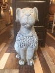 Large Ornamental Stone Dog
