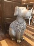 Large Ornamental Stone Dog