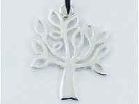 Cut out leafy tree pendant