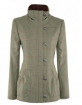 Dubarry Bracken Ladies Jacket in Connacht Acorn
