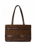 Dubarry Dalkey Leather Handbag in Walnut