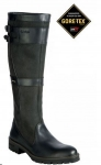 Dubarry Longford Leather Boot in Black