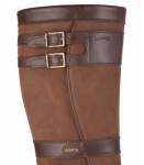 Dubarry Longford Leather boot in Walnut