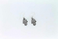Hand of Fatima drop earring