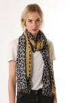 Leopard Scarf yellow