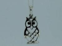 Open owl pendant
