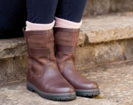 The Dubarry Roscommon Leather Boot in Walnut
