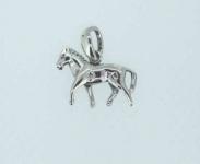 Trotting horse pendant