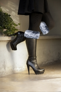 Frost Charcoal Boot Topper