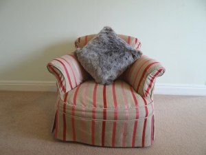 Frost Light Brown Cushion
