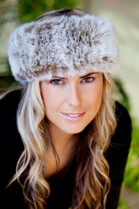 Frost Light Brown Headband