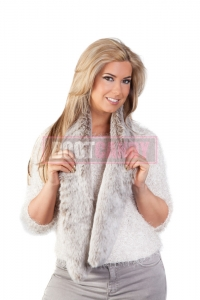 Frost Light Brown Long Scarf