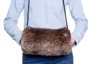 Oyster Brown Muff