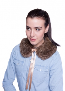 Oyster Brown Small Collar
