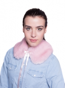 Pale Pink Small Collar