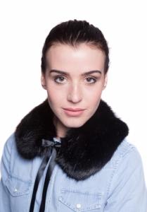 Prussian Black Small Collar